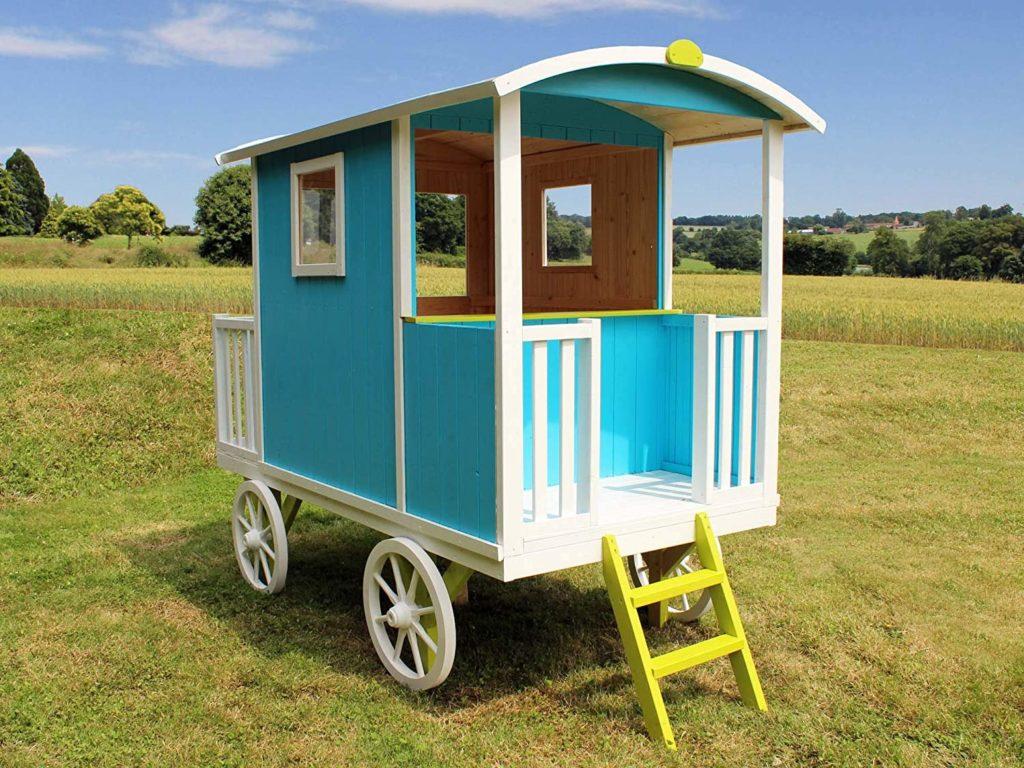 cabane roulotte enfant