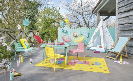 mobilier enfant exterieur jardin