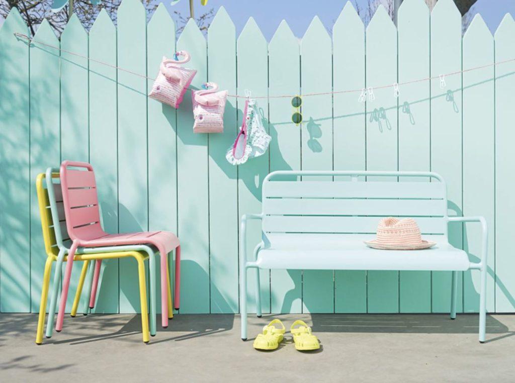mobilier enfant jardin