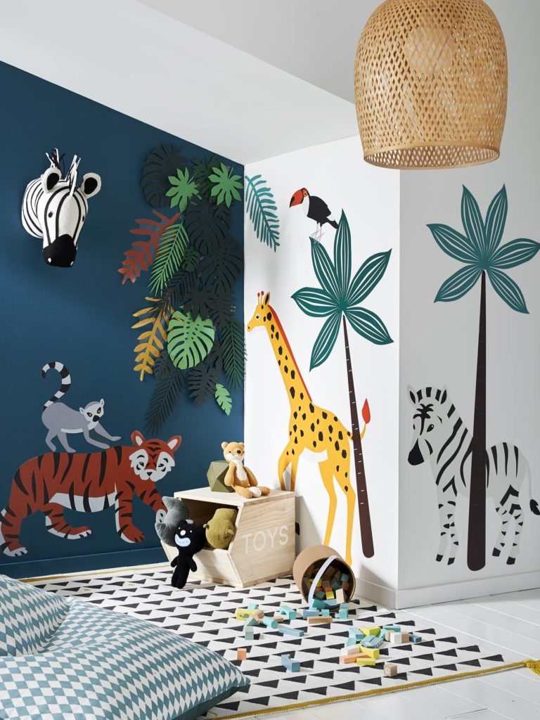 Stickers chambre jungle