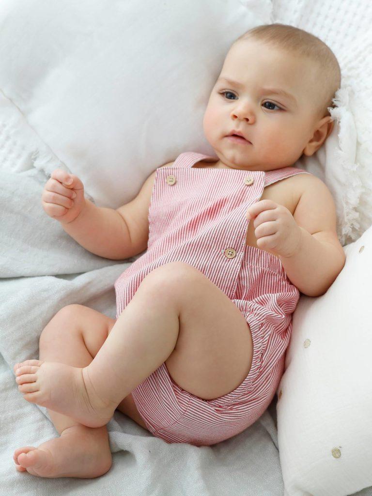 combinaison bebe naissance forme barboteuse