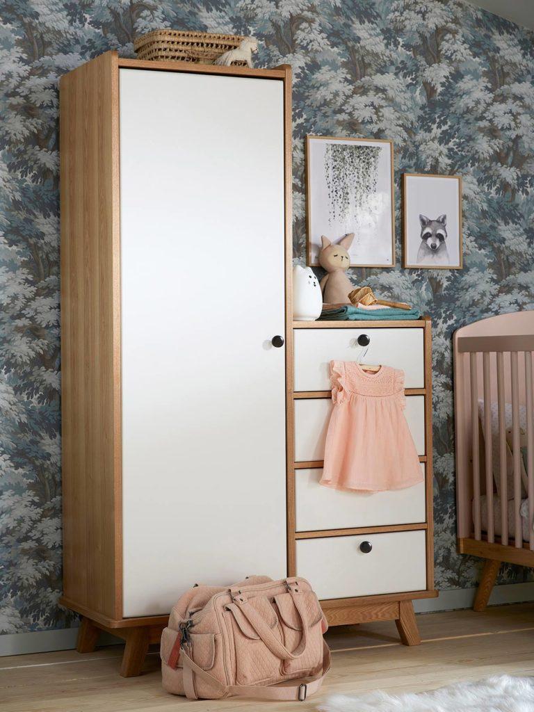 armoire commode vintage vertbaudet