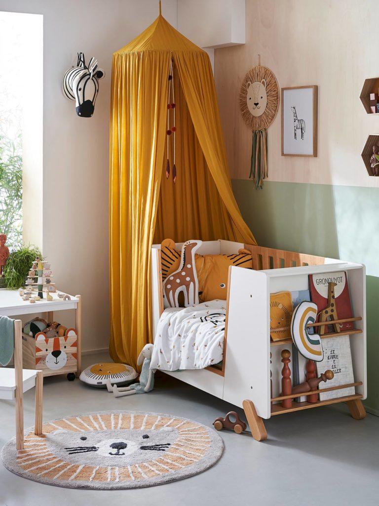 lit bebe avec barriere amovible pirouette