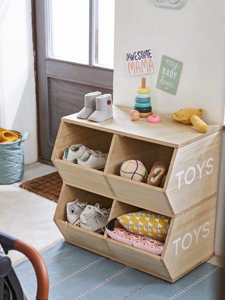 meuble bacs toys