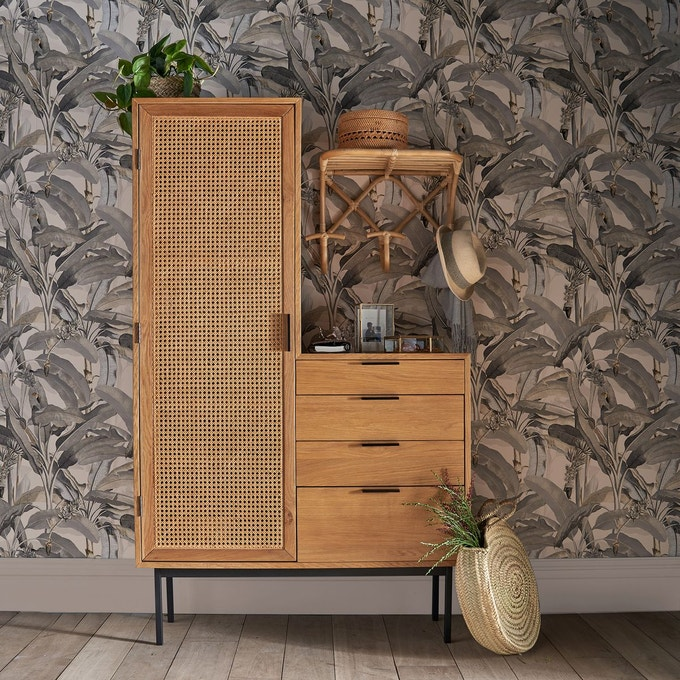 armoire dressing cannage la redoute