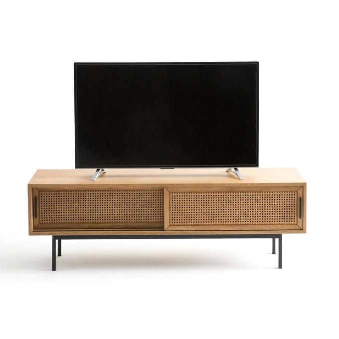 meuble tv cannage metal