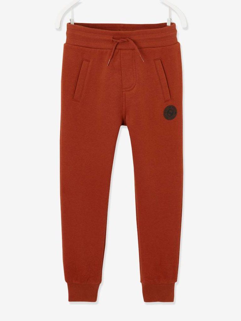 pantalon de sport garcon en molleton oeko tex