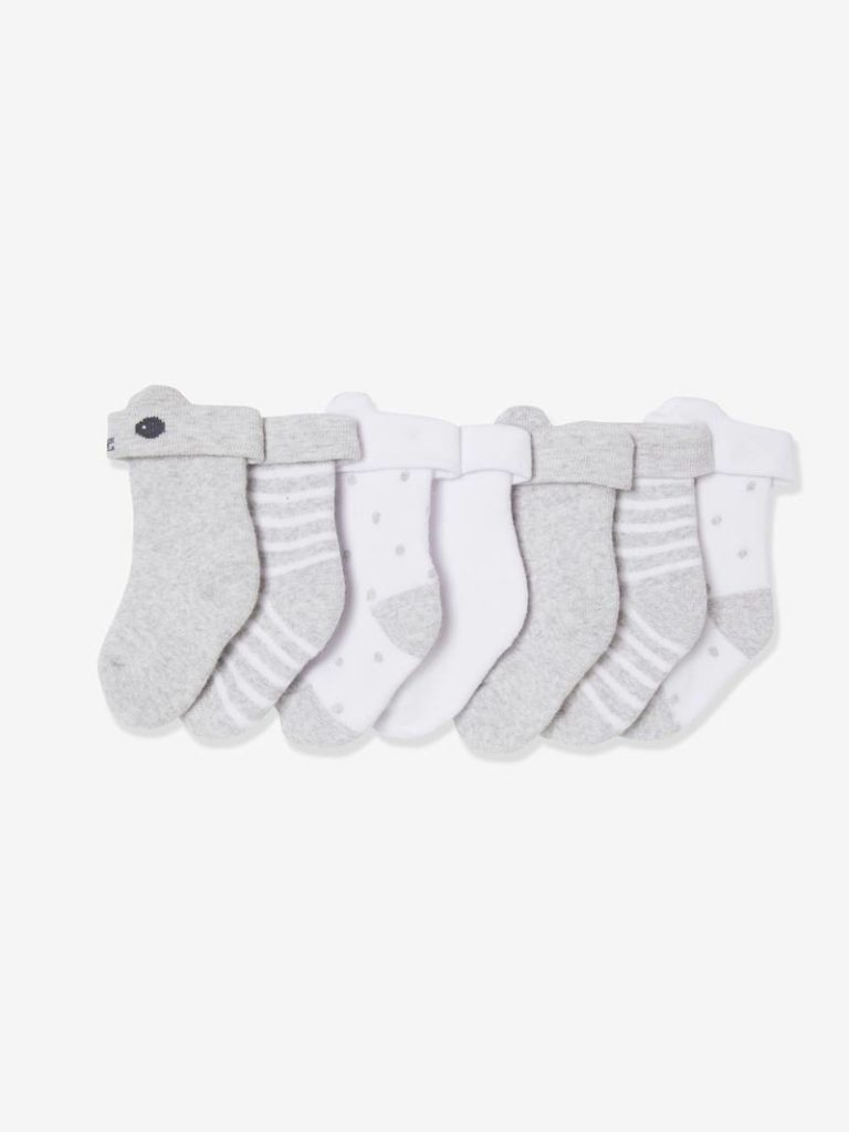 lot de paires de chaussettes bouclettes bebe oeko tex